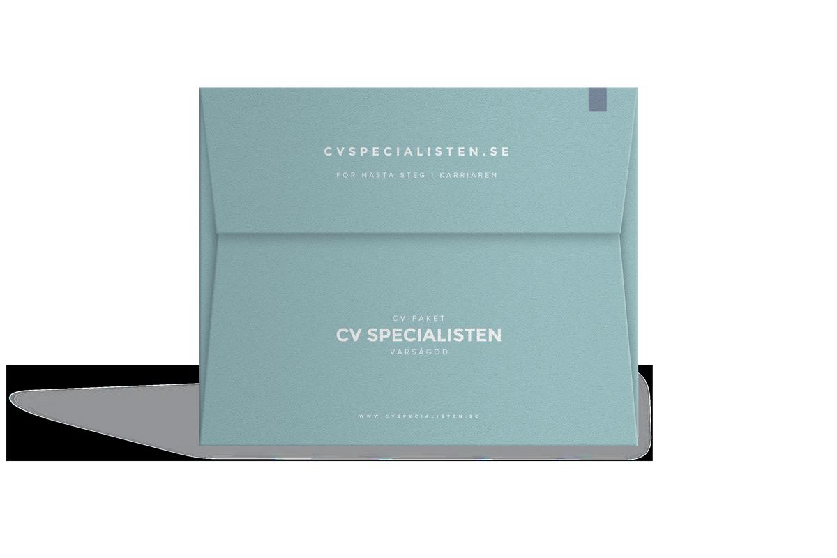 Köp CV för specialister