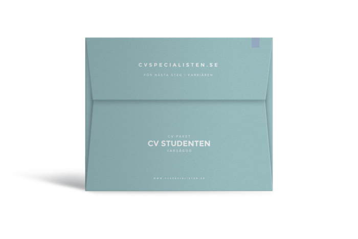 Köp CV för studenten